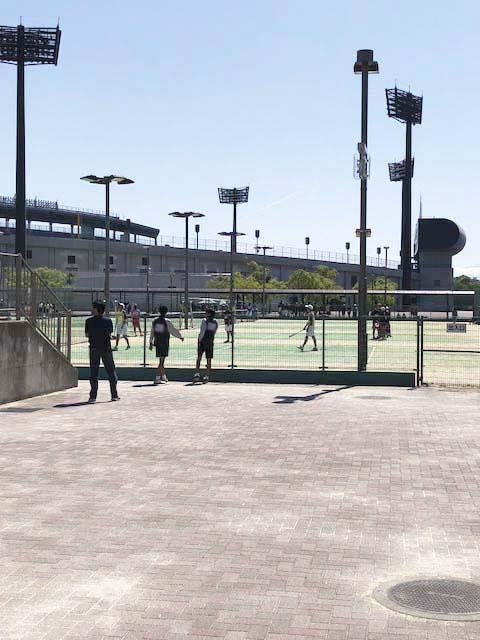 02テニスコート