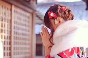 新年の幸福を願う、初詣